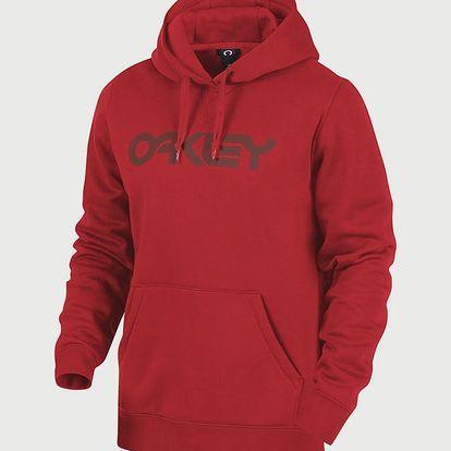 Mikina Oakley Dwr Fp P/O Hoodie Red Line Červená