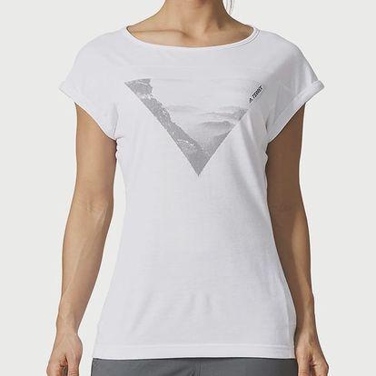 Tričko adidas Performance W CTC WOOL TEE Bílá
