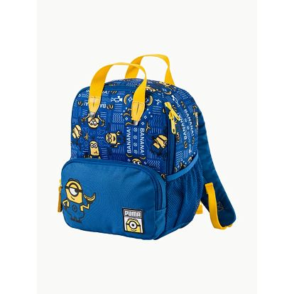 Batoh Puma Minions Small Backpack Lapis Blue-Aop Modrá