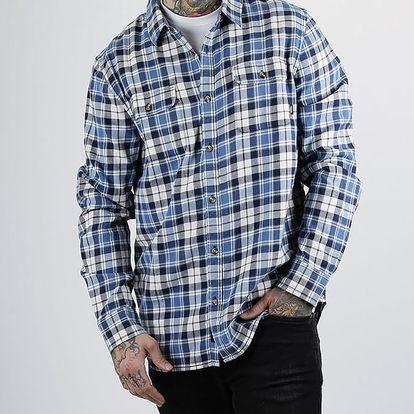 Košile Vans MN SYCAMORE MARSHMALLOW Modrá