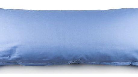 4Home povlak na Relaxační polštář Náhradní manžel modrá, 50 x 150 cm