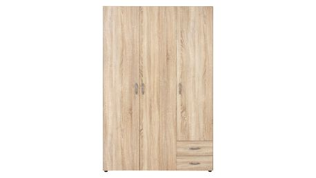 Skříň šatní base 3 *cenový trhák*, 120/177/52 cm