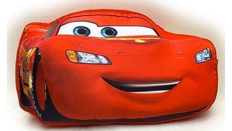 Jerry Fabrics Tvarovaný polštářek Cars McQueen, 34 x 20 cm