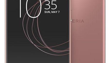 Mobilní telefon Sony XA1 (G3112) Dual SIM (1308-4515) růžový SIM karta T-Mobile 200Kč Twist Online Internet v hodnotě 200 Kč