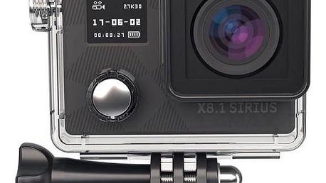 Outdoorová kamera LAMAX X8.1 Sirius + dárek, černá Tričko Lamax Joy For Life (L) (zdarma) + Doprava zdarma