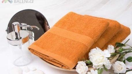 XPOSE ® Froté ručník VERONA - cihlová 50x90 cm