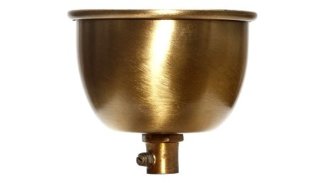 Hübsch Stropní krytka Gold, zlatá barva, kov