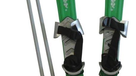 CorbySport 30439 Lyže dětské 70cm - zelené
