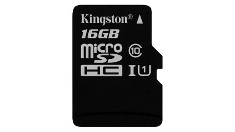 Paměťová karta Kingston 16GB UHS-I U1 (45R/10W) (SDC10G2/16GBSP)