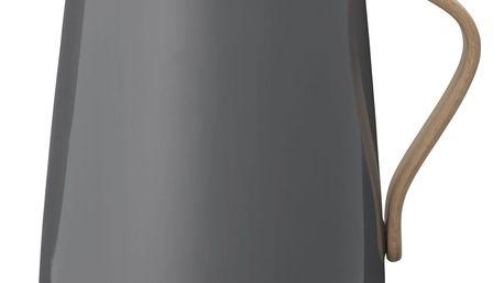 Stelton Rychlovarná konvice Emma Grey, šedá barva, kov (slevový kód JEZISEK24 na -24 %)