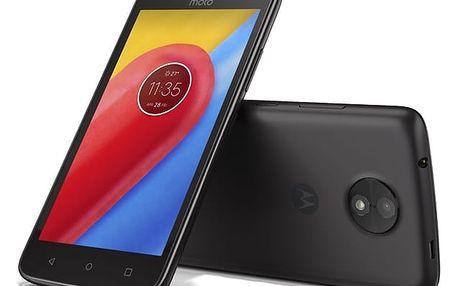 Mobilní telefon Motorola Moto C Dual SIM (PA6L0079CZ) černý
