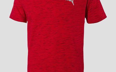 Tričko Puma Evostripe Spaceknit Tee Červená