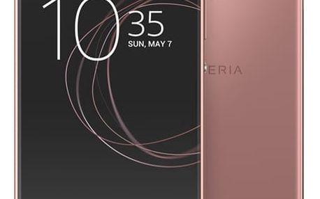 Mobilní telefon Sony XA1 (G3112) Dual SIM (1308-4515) růžový Software F-Secure SAFE, 3 zařízení / 6 měsíců v hodnotě 979 Kč + DOPRAVA ZDARMA