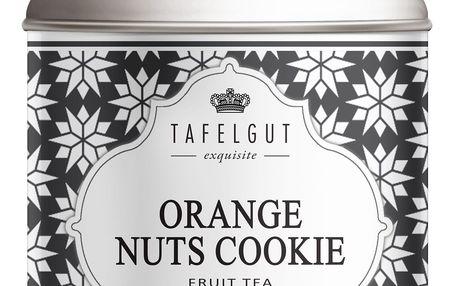 TAFELGUT Ovocný čaj Orange Nuts Cookie - 170gr, černá barva, kov
