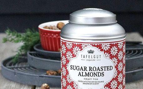 TAFELGUT Ovocný čaj Sugar Roasted Almonds - 140gr, červená barva, kov