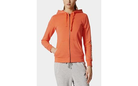 Mikina adidas Performance ESS LIN FZ HD Oranžová