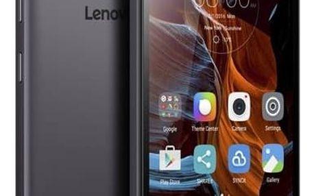 LENOVO K5 Dual SIM (PA2M0075CZ), šedá