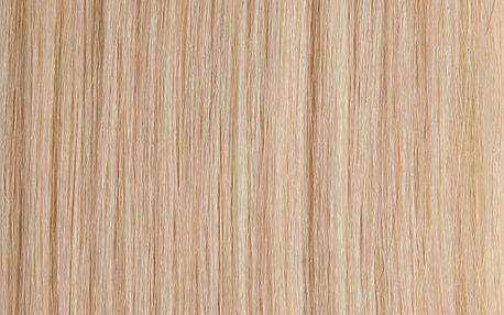 CLIP IN vlasy - set 65 cm platinová blond