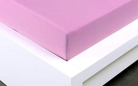XPOSE ® Jersey prostěradlo Exclusive jednolůžko - levandulová 90x200 cm