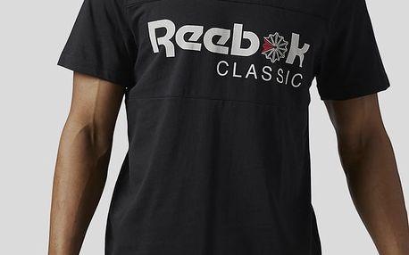 Tričko Reebok Classic F FRANCHISE ICONIC TEE Černá