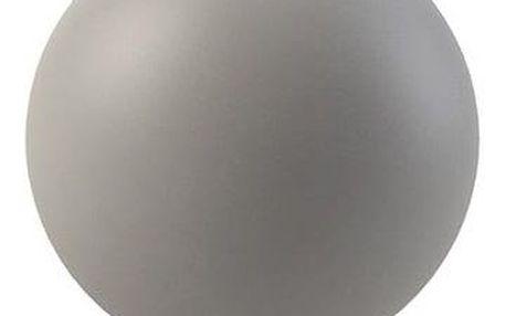 COOEE Design Kulatá váza Ball Grey 10 cm, šedá barva, keramika