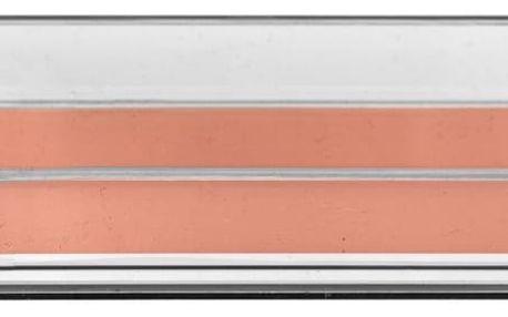Bloomingville Stojánek na kancelářské potřeby Rose gold, růžová barva, čirá barva, kov, plast