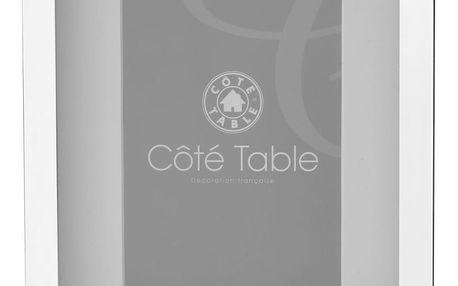CÔTÉ TABLE Fotorám Metal 26x21, stříbrná barva, sklo, kov