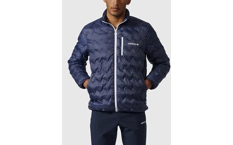 Bunda adidas Originals SERRATED JACKET Modrá
