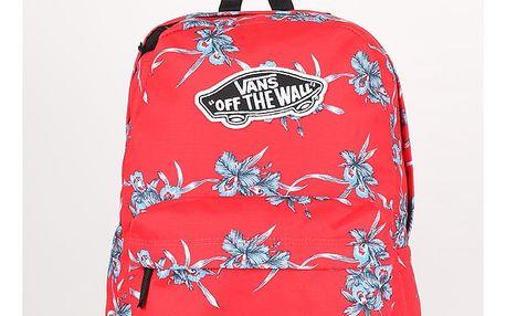 Batoh Vans Wm Realm Backpack Tomato Hawaiian Červená