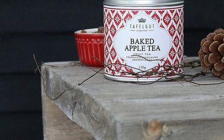TAFELGUT Ovocný čaj Baked Apple - 130 gr, červená barva, kov