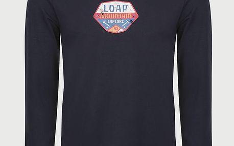 Tričko Loap AVAL Modrá