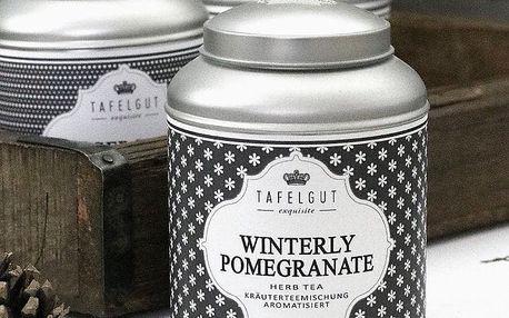 TAFELGUT Bylinný čaj Winterly Pomegarante - 100gr, černá barva, kov