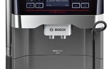 Espresso Bosch TES60523RW titanium + DOPRAVA ZDARMA