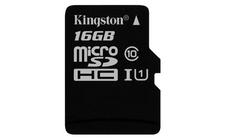 Kingston MicroSDHC 16GB UHS-I U1 (45MB/s) (SDC10G2/16GBSP)