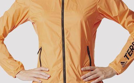 Bunda adidas Performance W SUMLT JKT SOL Oranžová