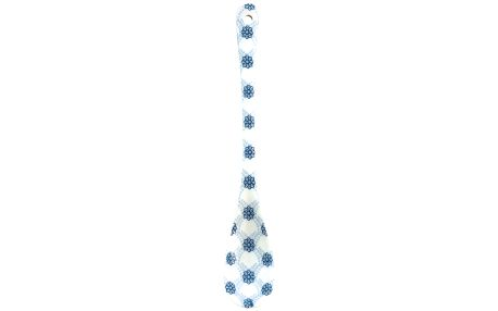 GREEN GATE Porcelánová lžička Lolly blue, modrá barva, porcelán