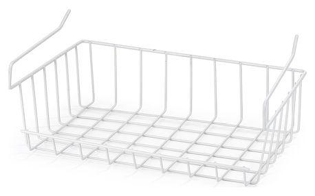 Závěsný košík pod poličku, 33 cm