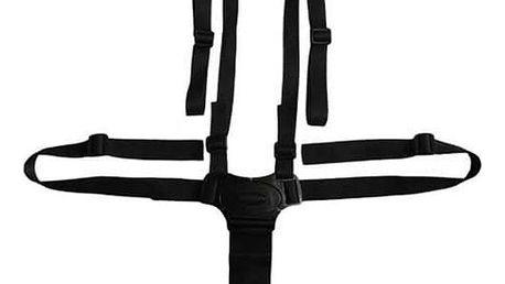 Bezpečnostní pás do kočárku - černý