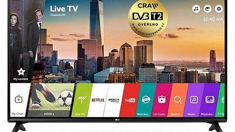 Televize LG 43LJ594V černá + DOPRAVA ZDARMA