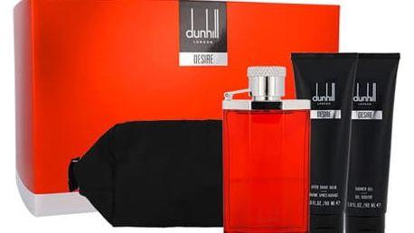 Dunhill Desire EDT dárková sada M - EDT 100 ml + sprchový gel 90 ml + balzám po holení 90 ml + kosmetická taška
