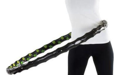 MOVIT Hula Hoop 2000 Masážní obruč na cvičení, 96 cm 64 magnetů