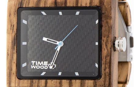 Dřevěné hodinky TIMEWOOD Valdi - doprava zdarma!
