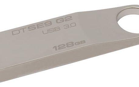 USB Flash Kingston 128GB (DTSE9G2/128GB) kovový