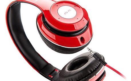 Sluchátka GoGEN HBTM 41RR červená (HBTM 41RR )