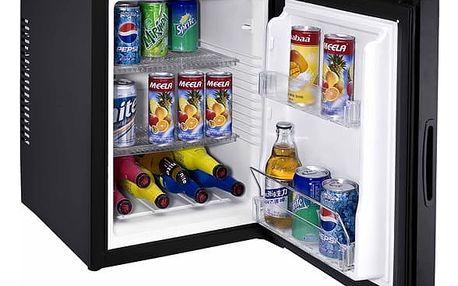 Chladnička Guzzanti GZ 44 černá + DOPRAVA ZDARMA