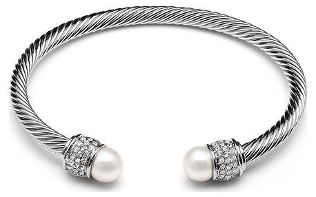 Náramek s perlami a Swarovski® krystaly GemSeller