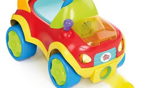 Hračka autíčko Scoot & Shoot Roadster mix barev