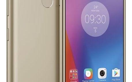 Mobilní telefon Lenovo K6 Dual SIM (PA530098CZ) zlatý Software F-Secure SAFE, 3 zařízení / 6 měsíců + Autodráha New Bright SPECIAL 101 v hodnotě 979 Kč + DOPRAVA ZDARMA