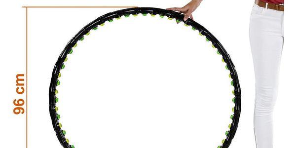 MOVIT Hula Hoop 2000 Masážní obruč na cvičení, 96 cm 64 magnetů3