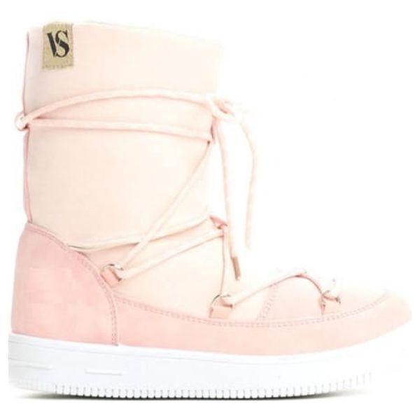 Dámské růžové sněhule Shelby 0067